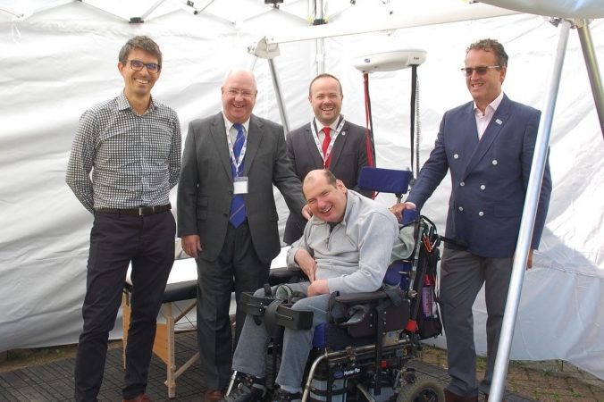Disabled people can feel the music thanks to Sussex Freemasons