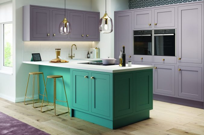 How to use colour in your kitchen