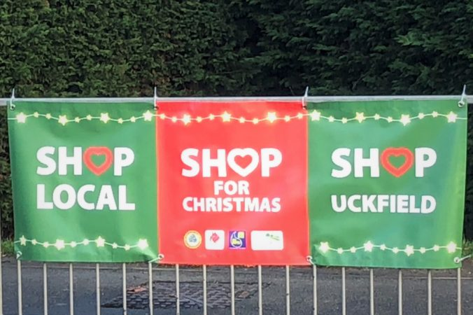 Shop Local, Shop for Christmas, Shop Uckfield!